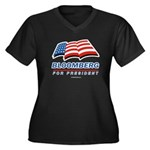 Bloomberg for President Women's Plus Size V-Neck D