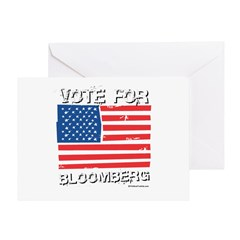 Vote for Bloomberg Greeting Card