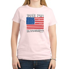 Vote for Bloomberg Women's Light T-Shirt