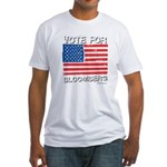 Vote for Bloomberg Fitted T-Shirt