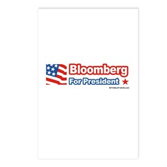 Bloomberg for President Postcards (Package of 8)