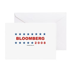 Bloomberg 2008 Greeting Card