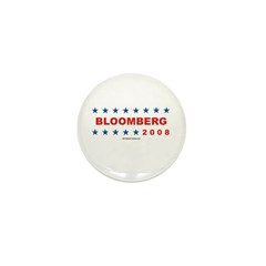 Bloomberg 2008 Mini Button (100 pack)