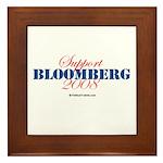 Support Bloomberg Framed Tile