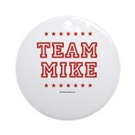 Team Mike Ornament (Round)