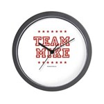 Team Mike Wall Clock