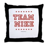 Team Mike Throw Pillow