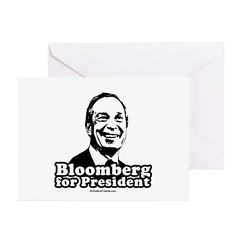 Bloomberg for President Greeting Cards (Pk of 20)