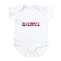 Bloomberg for President Infant Bodysuit