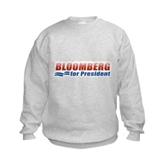 Bloomberg for President Kids Sweatshirt