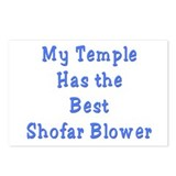 Shofar Blower Postcards (Package of 8)