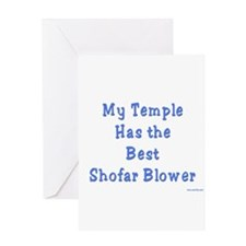 Shofar Blower Greeting Card