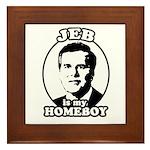 Jeb is my homeboy Framed Tile