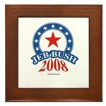 Jeb Bush Framed Tile