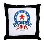 Jeb Bush Throw Pillow