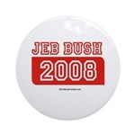 Jeb Bush 2008 Ornament (Round)