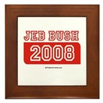 Jeb Bush 2008 Framed Tile