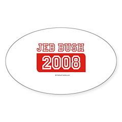 Jeb Bush 2008 Oval Sticker