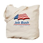 Jeb Bush for President Tote Bag