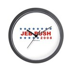 Jeb Bush 2008 Wall Clock
