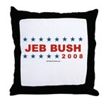 Jeb Bush 2008 Throw Pillow