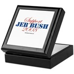 Support Jeb Bush Keepsake Box
