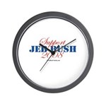 Support Jeb Bush Wall Clock