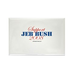 Support Jeb Bush Rectangle Magnet (100 pack)
