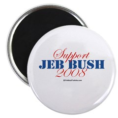 "Support Jeb Bush 2.25"" Magnet (100 pack)"