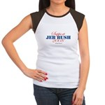 Support Jeb Bush Women's Cap Sleeve T-Shirt