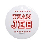 Team Jeb Ornament (Round)