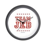 Team Jeb Wall Clock