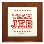 Team Jeb Framed Tile