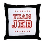 Team Jeb Throw Pillow