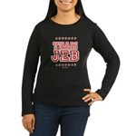 Team Jeb Women's Long Sleeve Dark T-Shirt