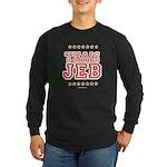 Team Jeb Long Sleeve Dark T-Shirt