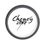 Cheney Autograph Wall Clock