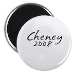 Cheney Autograph Magnet