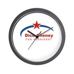 Cheney 2008 Wall Clock