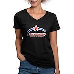 Cheney 2008 Women's V-Neck Dark T-Shirt