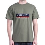 Cheney for President Dark T-Shirt