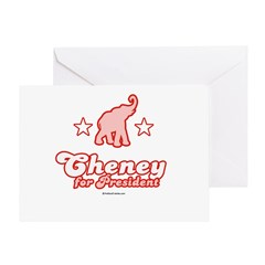 Cheney for President Greeting Card