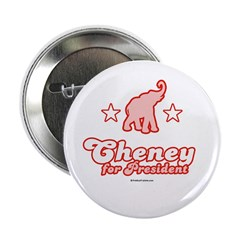"Cheney for President 2.25"" Button (10 pack)"