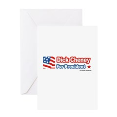 Dick Cheney for President Greeting Card