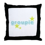 Groupie Stars Throw Pillow