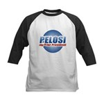 Pelosi for President Kids Baseball Jersey