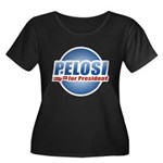 Pelosi for President Women's Plus Size Scoop Neck