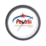 Pelosi for President Wall Clock
