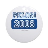 Pelosi 2008 Ornament (Round)
