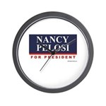 Nancy Pelosi for President Wall Clock